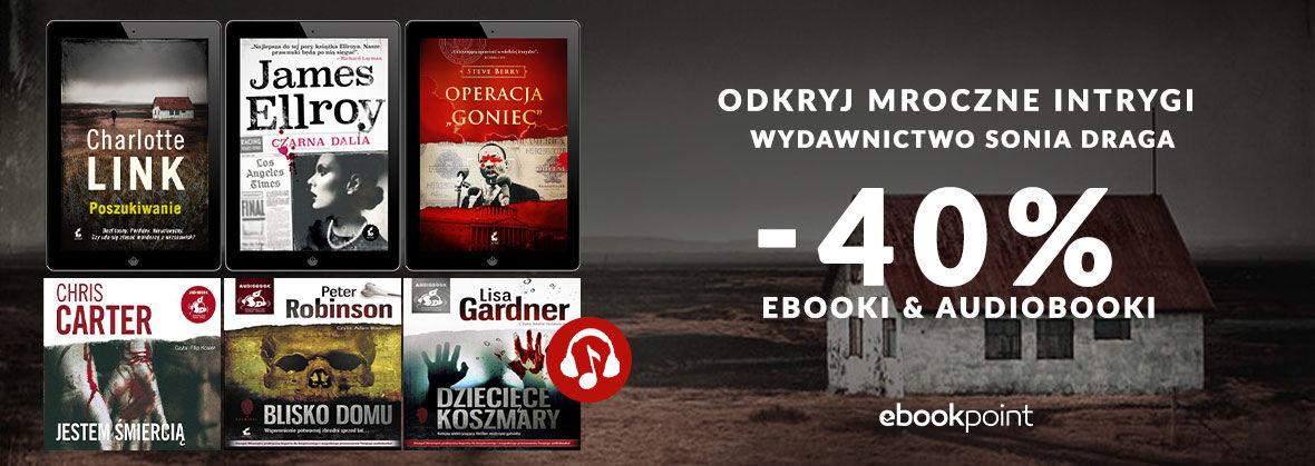Promocja na ebooki Odkryj mroczne intrygi / Kryminały -40%